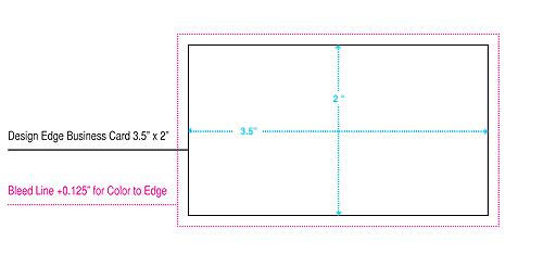 3 5 x 2 business card template idealstalist 3 5 x 2 business card template wajeb Choice Image